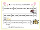 Sherry  the Bee  _tion and _ture Suffix Game RF.1.3, RF.2.3