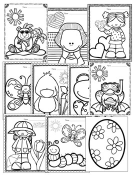 Sometimes They Just Want To Color! (Art Center Coloring Printables for all Year)