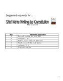 Shh We're Writing the Constitution Jean Fritz-Complete Lit Unit