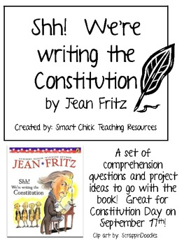 shh were writing the constitution book report What i learned about the constitution shh we're writing the constitution again i have learned so much from this book about the constitution.