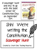 """""""Shh! We're writing the Constitution"""", Scavenger Hunt and KEY!"""