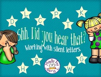 Shhh, Did you hear that? - Silent Consonants