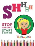 Shhh Poster featuring Georgia from The Primary Kids
