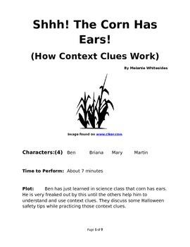 Shhh! The Corn Has Ears! (How Context Clues Work)