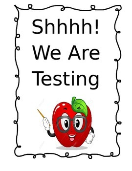 Shhh.....We Are Testing
