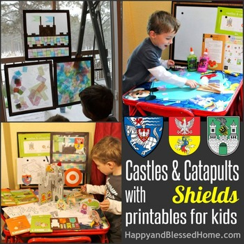 Shields and Castles Activity Pages