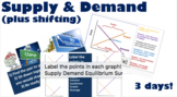 Supply & Demand w/Interactive Cards, S & D Shifters, Works