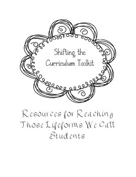 Shifting the Curriculum Toolkit for LAFS and CCSS