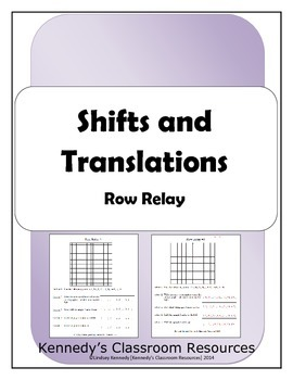 Shifts and Translations - Row Relay