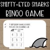 Shifty-Eyed Sharks Summer Math {Bingo Game}