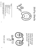 Shifty Sheila- mini book