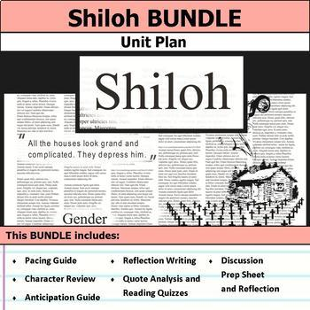 Shiloh by Bobbie Ann Mason Unit Bundle