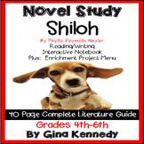 Shiloh Novel Study & Enrichment Projects Menu