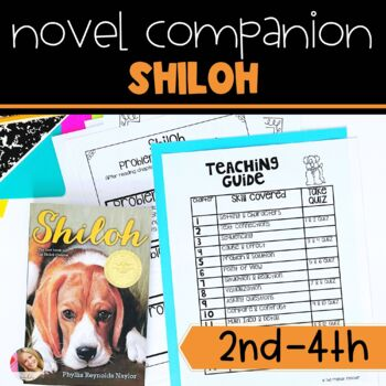 Shiloh Chapter Quizzes Worksheets Teaching Resources TpT