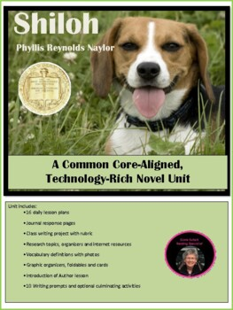 Shiloh--A Common Core Aligned, Technology Rich Novel Unit