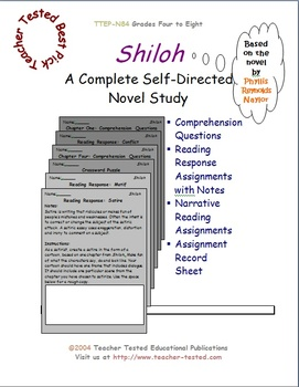 Shiloh: A Complete Novel Study