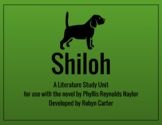 Shiloh: A Literature Study Unit (editable)