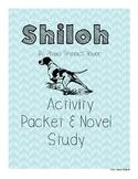 Shiloh Activity Packet and Novel Study