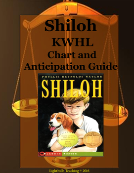 Shiloh Anticipation Guide and KWHL Chart