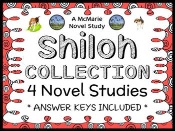 Shiloh COLLECTION (Phyllis Reynolds Naylor) All 4 Novel Studies (135 pages)