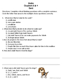 Shiloh Chapter 3 & 4 Quiz
