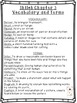 Shiloh Chapters 1-3 Vocabulary, Terms, Worksheet