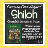 Shiloh Novel Study Activities, Lessons, Questions PACKET|
