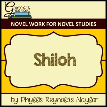 Shiloh: CCSS-Aligned Novel Work
