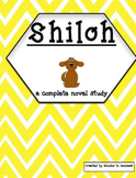 Shiloh Complete Novel Study