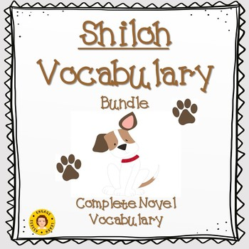Shiloh - Complete Novel Vocabulary BUNDLE
