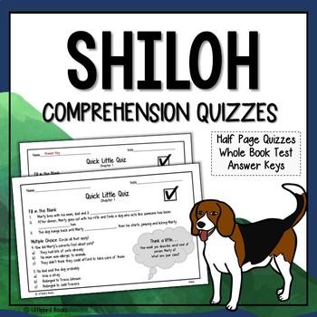 Shiloh Comprehension Questions