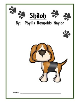Shiloh Comprehension Questions, Vocabulary and Game