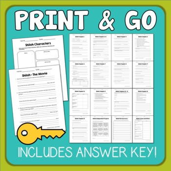 Unforgettable image throughout shiloh worksheets printable