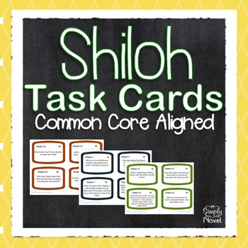 Shiloh Task Cards