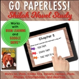 Google Classroom™ Shiloh Novel Study Self-Checking Digital