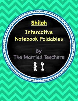 Shiloh Interactive Literature and Grammar Notebook Foldables