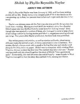Shiloh Literature Guide