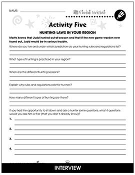Shiloh - Literature Kit Gr. 5-6 - BONUS WORKSHEETS