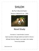 Shiloh Novel Questions