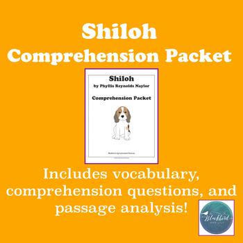Shiloh Novel Study Guide - comprehension and vocabulary!