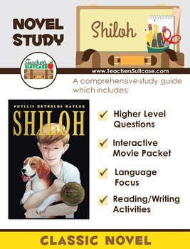 Shiloh {Novel Study & Interactive Movie Packet}