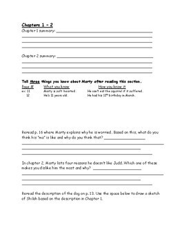Shiloh Literature Group Packet