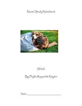 Shiloh Novel Study Notebook