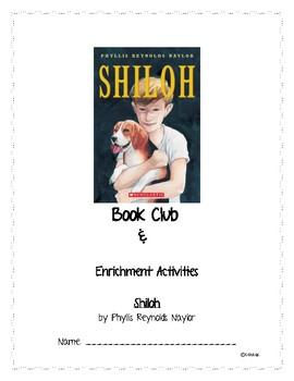 Shiloh Novel Study Questions