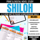 Shiloh Novel Study Unit