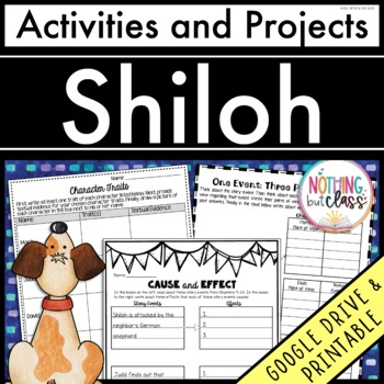 Shiloh: Reading Response Activities and Projects