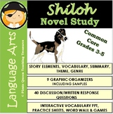 Shiloh Novel Study for Grades 3-5/Common Core Aligned