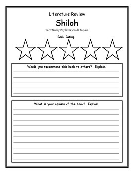 Shiloh Phyllis Reynolds Naylor Book Review Opinion Rating Comprehension
