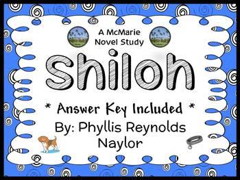 Shiloh (Phyllis Reynolds Naylor) Novel Study / Comprehension  (38 pages)
