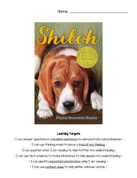 Shiloh Reading Guide